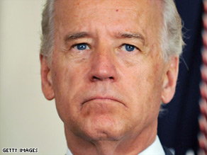 Vice President Biden on Thursday said people should avoid &quot;confined spaces.&quot;