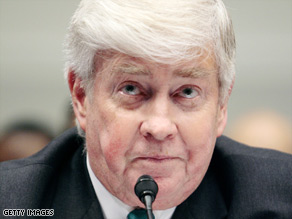 Jack Kemp, a former congressman from New York, was the GOP's vice presidential candidate in 1996.