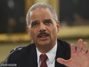 Attorney General Eric Holder says he has not decided where or when Guantanamo detaines will be moved.