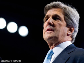 "The U.S. and some allies have ""deep suspicions"" about Iran's nuclear program, Sen. John Kerry wrote."