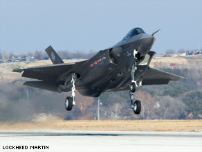 The cost of the F-35 Joint Strike Fighter has risen 60 percent over initial estimates, officials say.