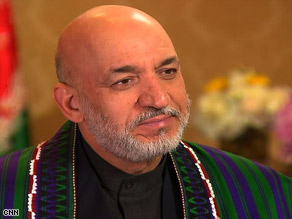 Afghan President Hamid Karzai said his government does not tolerate corruption.