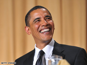President Obama delivers some one-liners at the White House Correspondents' Association dinner.