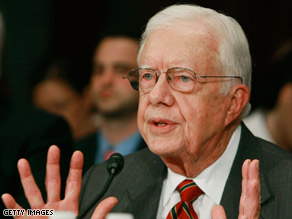 Former President Carter said Tuesday that the United States must end its energy-based vulnerability.