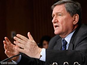 "Veteran diplomat Richard Holbrooke criticized Bush for committing a ""pathetic"" amount of money to Pakistan."