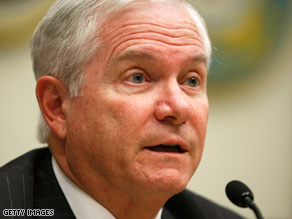 "Defense Secretary Robert Gates says the U.S. must be prepared for the wars ""we are most likely to fight."""