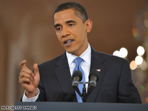 Presidnet Obama says he wants his nominee to be in place before the Supreme Court's next session.