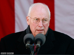 Former Vice President Dick Cheney sought the declassification of documents on terrorist suspects.