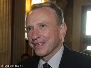 Sen. Arlen Specter announced his switch to the Democratic Party in April.