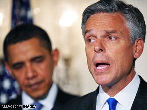 Utah Gov. Jon Huntsman is fluent in Mandarin Chinese and has an adopted daughter from China.