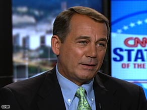 Republican leader John Boehner demanded that House Speaker prove her claim that the CIA misled Congress.
