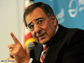 CIA Director Leon Panetta speaks about the fight against al Qaeda at the Pacific Council on International Policy.