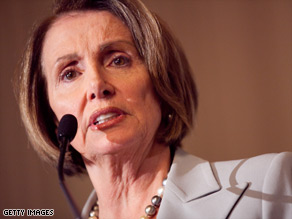 House Speaker Nancy Pelosi is doing everything in her power to get health care reform passed