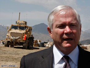 """Being the secretary of war in a time of war is a very painful thing,"" Robert Gates says."