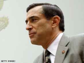 Rep. Darrell Issa asked the FBI to investigate Speaker Nancy Pelosi's claim that the CIA lied to Congress.