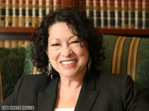 Judge Sonia Sotomayor addressed the controversial issue of raceand gender in her judicial philosophy Tuesday.