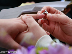 Four states -- Connecticut, Maine, Massachusetts and Iowa -- currently allow same-sex marriages.