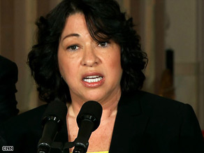 Judge Sonia Sotomayor is President Obama's pick to replace Justice David Souter on the U.S. Supreme Court.