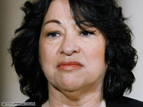 Sonia Sotomayor's opponents are attacking a 2001 remark she made at the University of California, Berkeley.