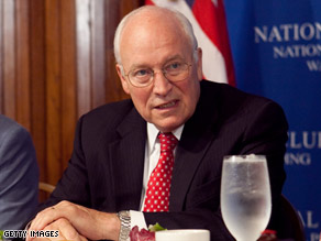 Former Vice President Dick Cheney says Saddam Hussein &quot;provided sanctuary ... and resources to terrorists.&quot;