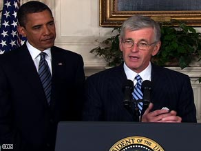President Obama nominated Rep. John McHugh, R-New York, to be Army secretary.