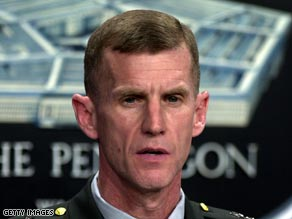 Lt. Gen. Stanley McChrystal testified before the Senate as the nominee to become the new overall commander in Afghanistan.