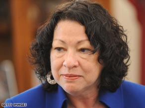 Judge Sonia Sotomayor has been meeting with lawmakers in advance of her confirmation hearings.