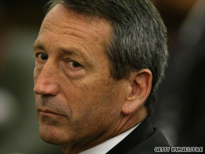South Carolina Gov. Mark Sanford wanted to pay down state debt with stimulus money.