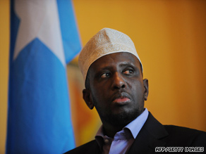 Somalian President Sheikh Sharif Sheikh Ahmed has been targeted by al Qaeda.