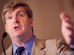 """I have decided to temporarily step away from my normal routine,"" Rep. Patrick J. Kennedy says in a statement."