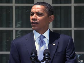 President Obama, speaking to reporters Friday, said the tobacco bill was a 'long time coming.'