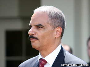 "Attorney General Eric Holder says he is focusing on ""new challenges and insurgent threats."""