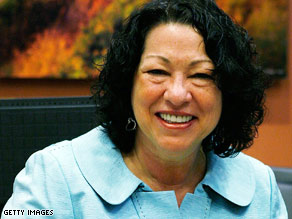 Judge Sonia Sotomayor says her club membership does not violate the Code of Judicial Conduct.