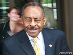 "Sen. Roland Burris, shown at the University of Illinois in May, called the prosecutor's inquiry ""thorough and fair."""