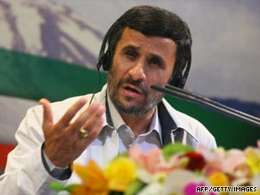 Protests in Iran over Mahmoud Ahmadinejad's election win pose a delicate diplomatic problem for U.S. President Barack Obama.