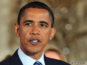 President Obama on Tuesday toughened his stance on Iran's crackdown on protesters.
