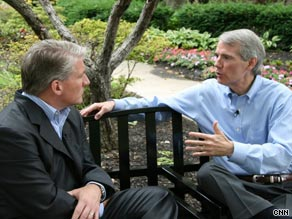 CNN's John King speaks to former Rep. Rob Portman, R-Ohio.