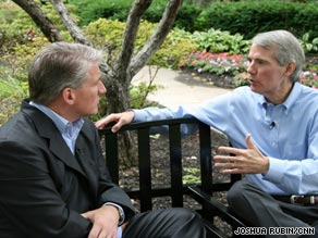CNN&#039;s John King speaks to former Rep. Rob Portman, R-Ohio.