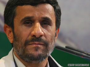 Iranian President Mahmoud Ahmadinejad lashed out at President Obama on Thursday.