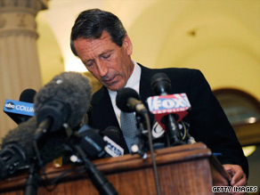 South Carolina Gov. Mark Sanford admits to an affair Wednesday at the state Capitol in Columbia.