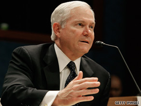 "U.S. Defense Secretary Robert Gates says there may be flexibility in applying ""don't ask, don't tell."""