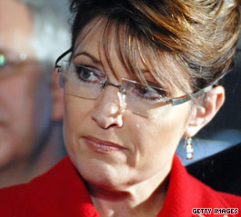 Palin is stepping down.