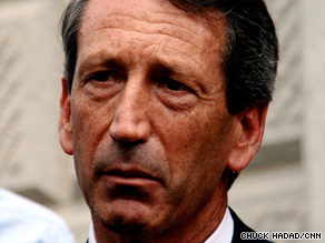 The fallout from Gov. Mark Sanford's affair caps months of decline for the second-term governor.
