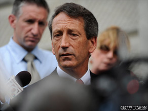 The South Carolina Republican Party voted Monday night to censure Gov. Mark Sanford.