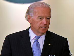 "Vice President Biden says ""we can't wait"" for health care reform."