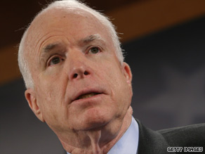 Sen. John McCain says the effectiveness of torture is questionable at best.