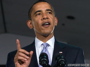 President Obama campaigns Thursday for New Jersey Gov. Jon Corzine.