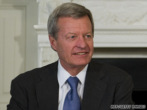 Sen. Max Baucus says President Obama's stand against taxing employer health benefits is slowing down a bill.