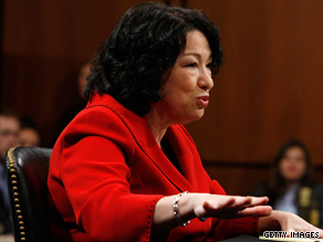 CNN's John King says Republicans think they'll gain more ground on pocketbook issues than on Sonia Sotomayor.