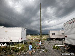 A federal report released Thursday criticizes FEMA's response to formaldehyde problems in trailers.